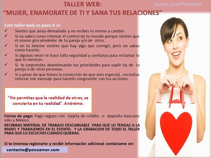taller web mujer enamorate